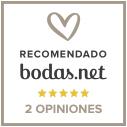 sello recomendación de bodas net